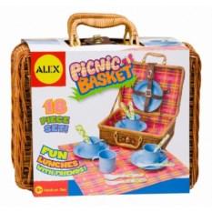 Детский игровой набор для пикника в корзине от ALEX