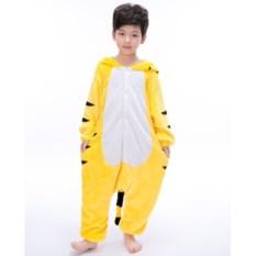 Детская кигуруми Желтый тигр
