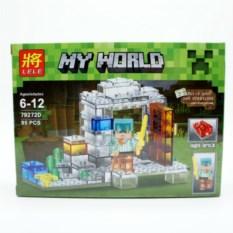 Конструктор Lele Minecraft Алекс , 95 деталей