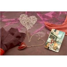 Обложка для паспорта / автодокументов Sweet Paris