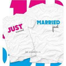 Футболки Just Married
