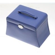 Синяя шкатулка для украшений Трапеция Davidt's