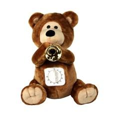 Поющая мягкая игрушка Медвежонок с таймером