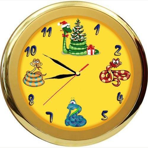 Часы настенные «Змеи»