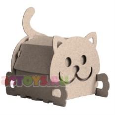 Набор для творчества Домик-котик