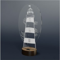 3D светильник Onilight Маяк