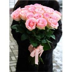 Букет из 25 розовых роз Эквадор