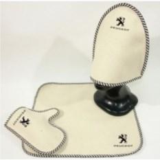 Комплект для бани с логотипом Peugeot