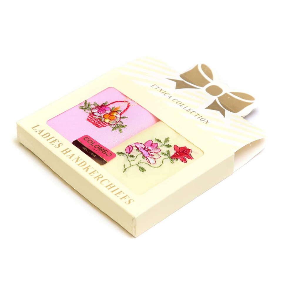 Набор из желтого и розового платочков