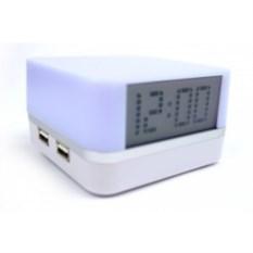 USB хаб с часами