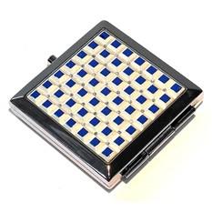 Зеркало квадратное Синие квадраты