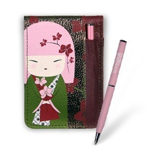 Блокнот со съёмным чехлом и ручкой «Мегуми»