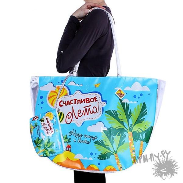 Пляжная сумка Счастливое лето