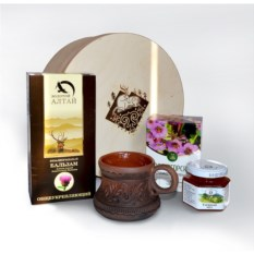 Подарочный набор с мёдом Алтайский