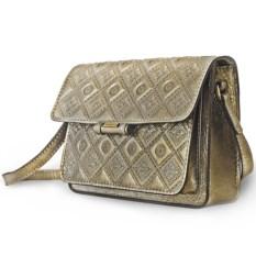 Золотистая женская сумочка «Фантазия»