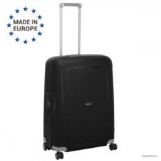 Чёрный чемодан Samsonite s'cure