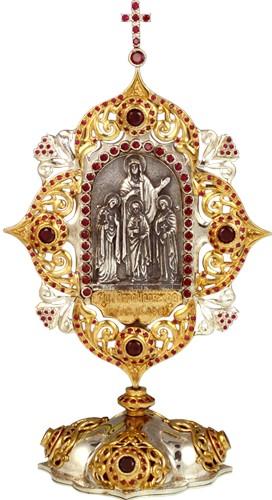 Настольная икона Вера, Надежда, Любовь и матерь их София