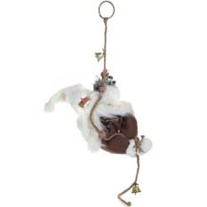 Новогодний сувенир Дед Мороз на веревке