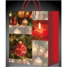Вместительный новогодний пакет