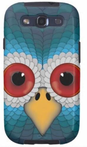Пластиковая 3D накладка для Samsung S3 i9300
