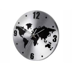 Настенные часы с картой мира