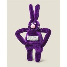 Игрушка заяц Мне все фиолетово