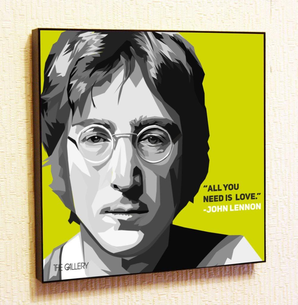 Картина в стиле поп-арт Джон Леннон