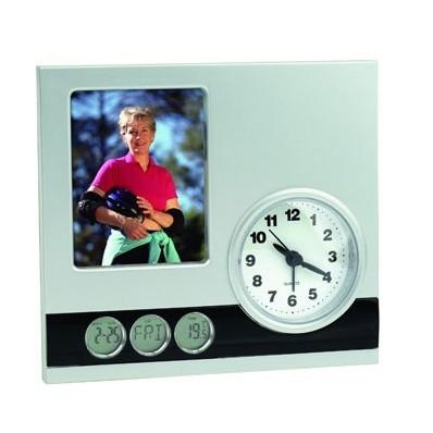 Настольные часы с  рамкой для фотографии