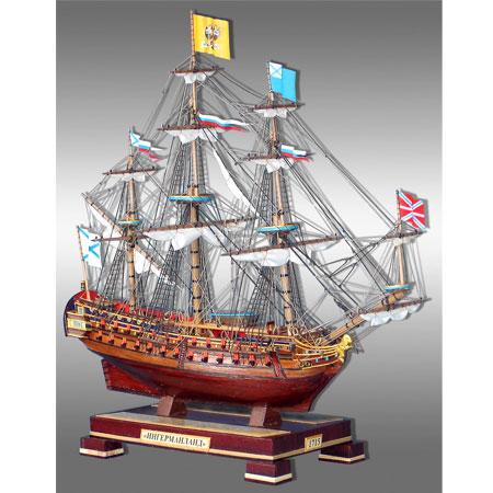 Корабль Петра I «Ингерманланд»