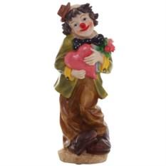 Декоративная фигурка Клоун с сердечком