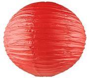 Бумажный фонарик, красный