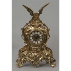 Каминные часы Virtus золотого цвета