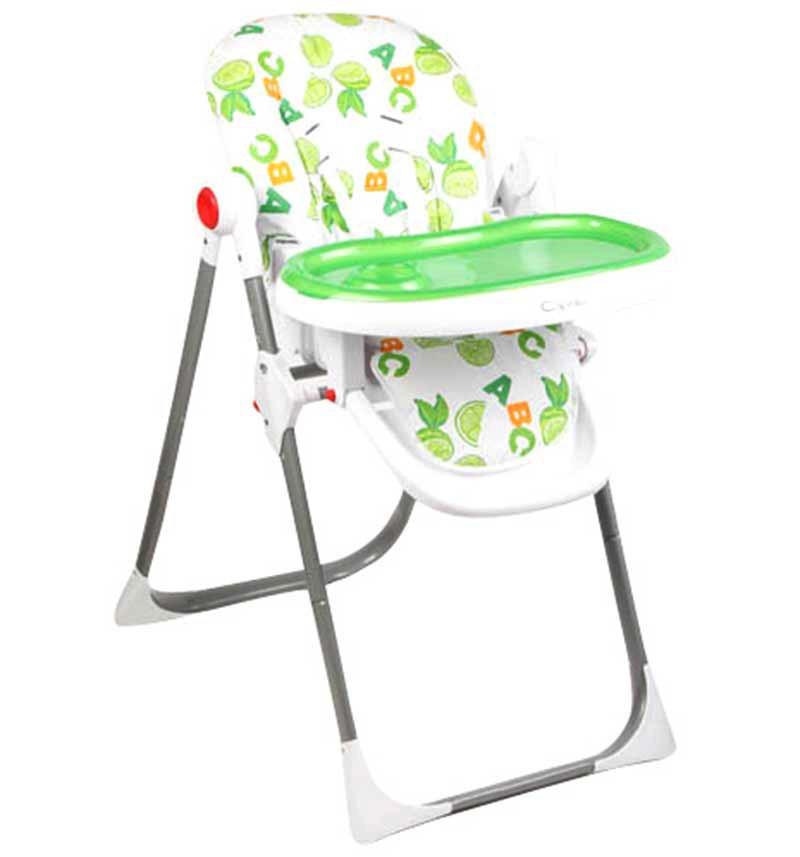Стульчик для кормления Capella, цвет: зеленый