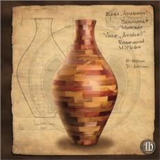 Напольная ваза Анабель