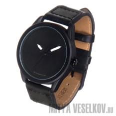 Часы Mitya Veselkov Черные на черном