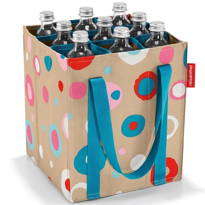 Сумка-органайзер для бутылок Bottlebag funky dots