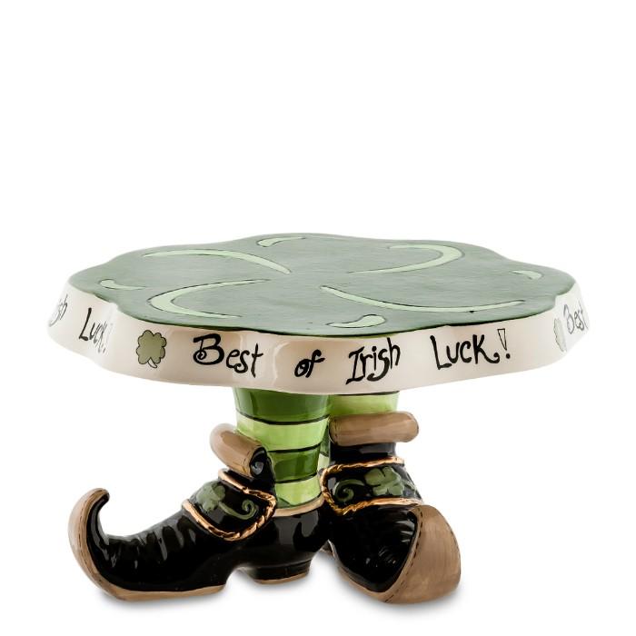Тортовница Туфли лепрекона - на богатство
