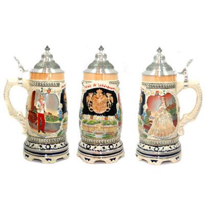 Пивная кружка коллекционная «Царская фамилия»