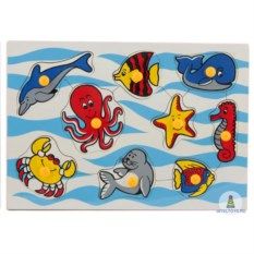 Рамки-вкладыши «Морские животные»