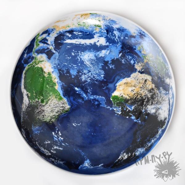 Тарелка Планета Земля