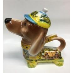 Чайник в форме собаки Летний день