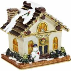 Шкатулка Рождественский домик