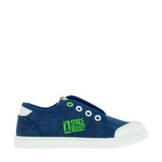 Синие кеды на шнурках для мальчиков Kakadu