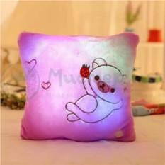 Светящаяся подушка Мишка