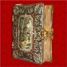 Сувенирный штоф для напитков «Книга Записки охотника»