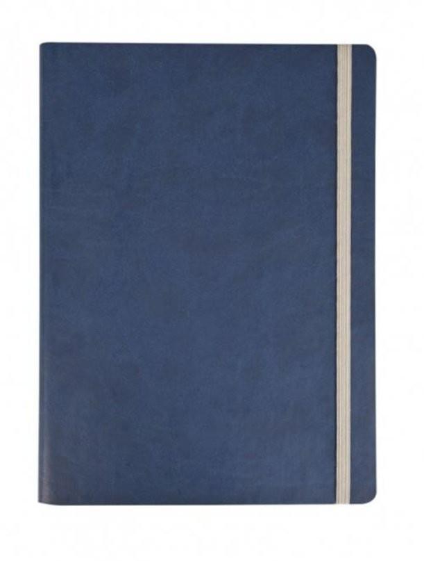 Синий недатированный ежедневник Vivien