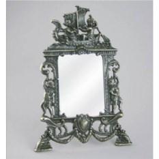 Настольное квадратное зеркало Ангелы