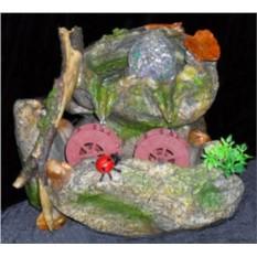 Фонтан Природа, шарик в скале