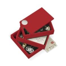 Красная шкатулка Spindle