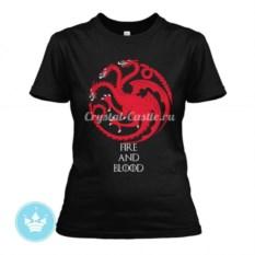 Женская футболка Дом Таргариенов